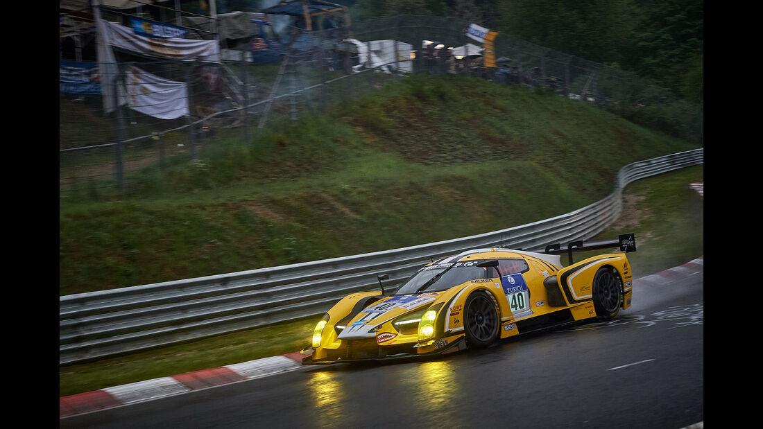 SCG 003c - Scuderia Cameron Glickenhaus - #40 - Ken Dobson, Jeff Westphal, Thomas Mutsch, Franck Mailleux - - 24h Nürburgring  - Donnerstag - 1. Qualifying - 14.5.2015