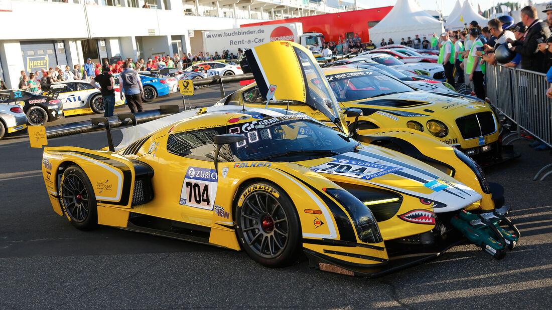 SCG003 - Traum Motorsport - Startnummer #704 - Top-30-Qualifying - 24h-Rennen Nürburgring 2017 - Nordschleife