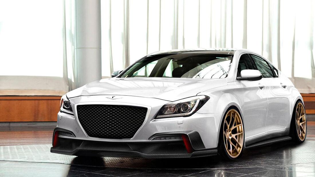 SEMA-Show 2014, Tuning, Messe, ARK Performance, Hyundai Genesis