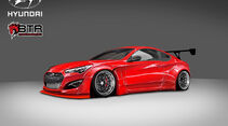 SEMA-Show 2014, Tuning, Messe, Blood Type Racing, Hyundai Genesis Coupé