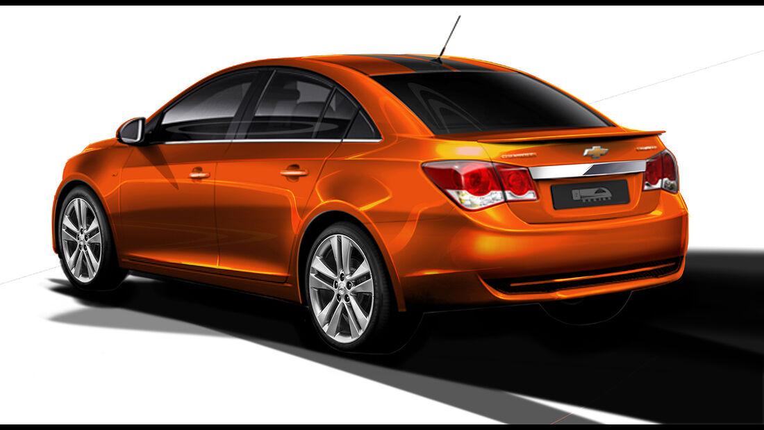 SEMA-Show 2014, Tuning, Messe, Chevrolet Cruze RS Plus Concept
