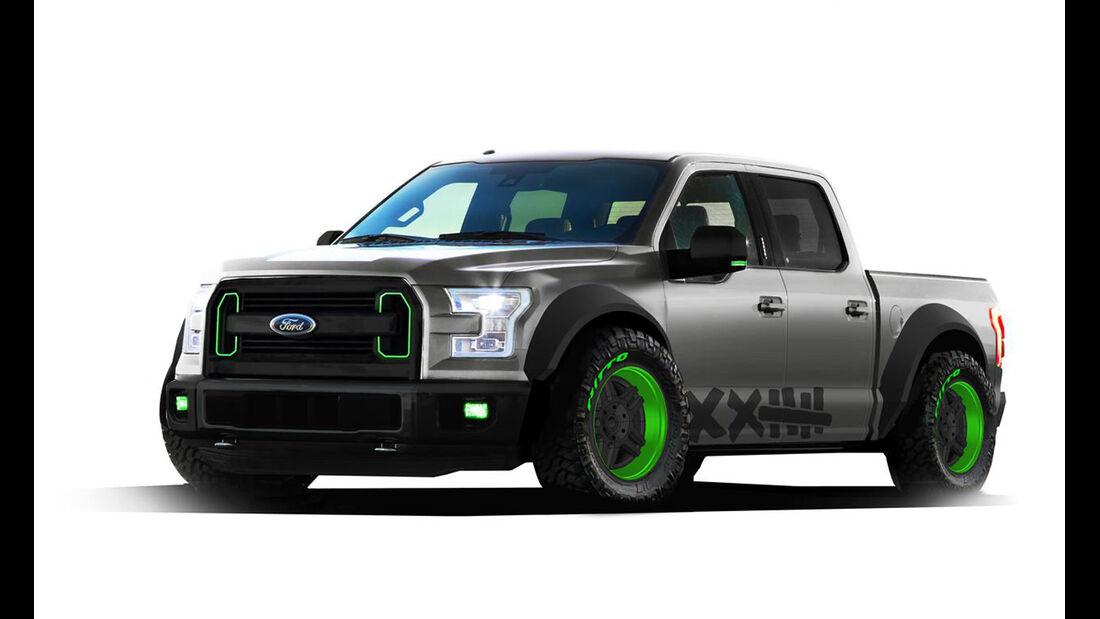 SEMA-Show 2014, Tuning, Messe, Ford F-150 Vaughn Gittin Jr. Street Truck