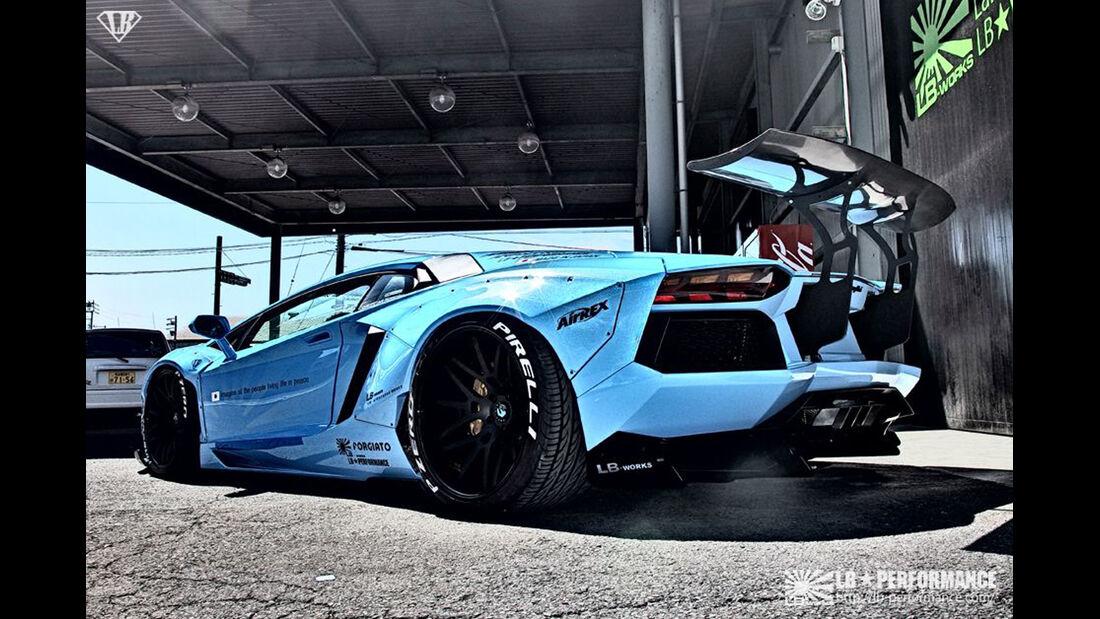SEMA-Show 2014, Tuning, Messe, LB Performance, Lamborghini LP720-4 50th Anniversario