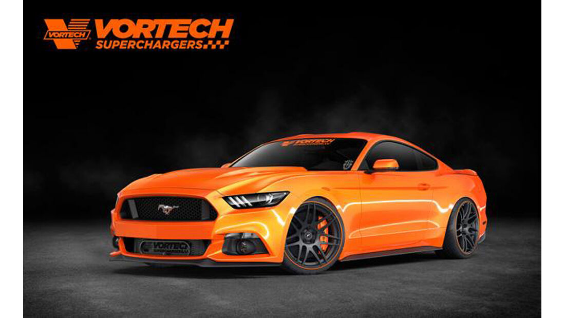 SEMA-Show 2014, Tuning, Messe, Vortech Superchargers Ford Mustang