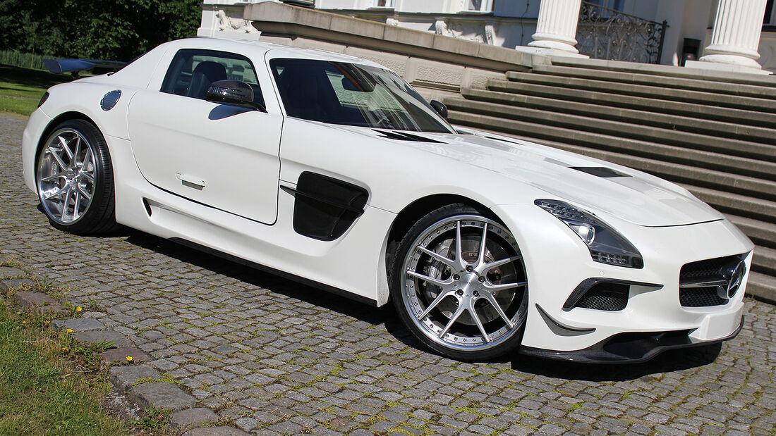 SGA Aerodynamics – Mercedes SLS AMG Black Series Design