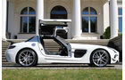 SGA Aerodynamics – Mercedes SLS AMG Black Series Design