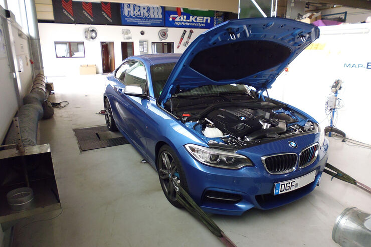 SL-Tuningsolutions BMW M235i, Tuning, Prüfstand