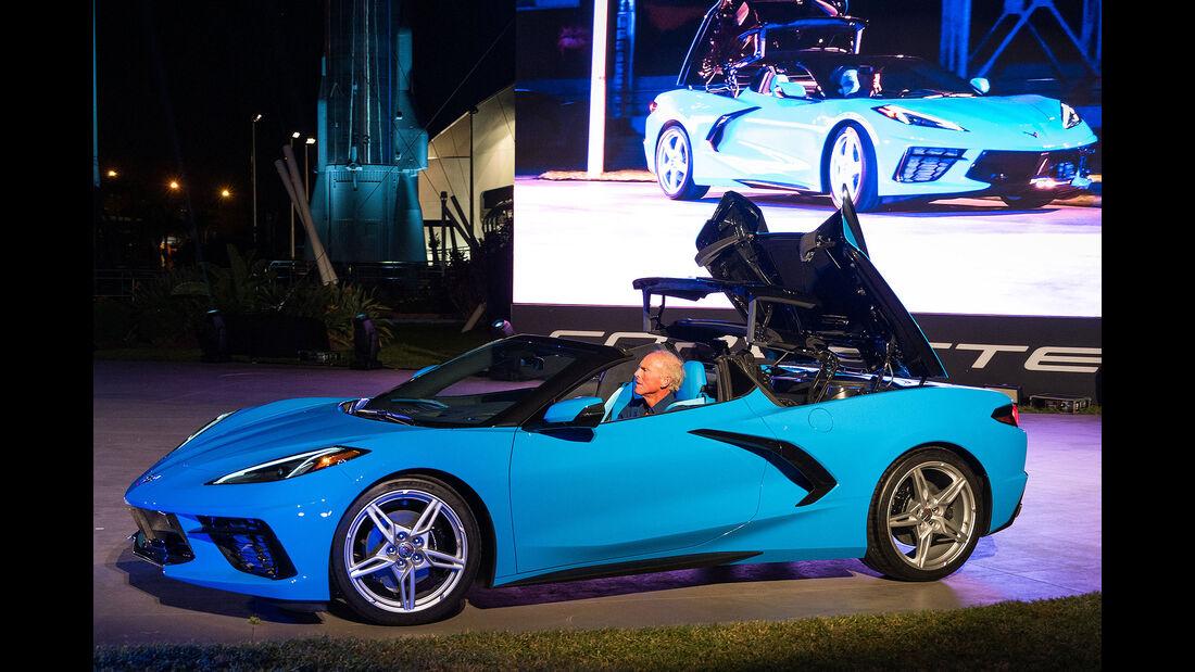 SPERRFRIST 03.10.19 / 02:00 Uhr Chevrolet Corvette C8 Cabrio