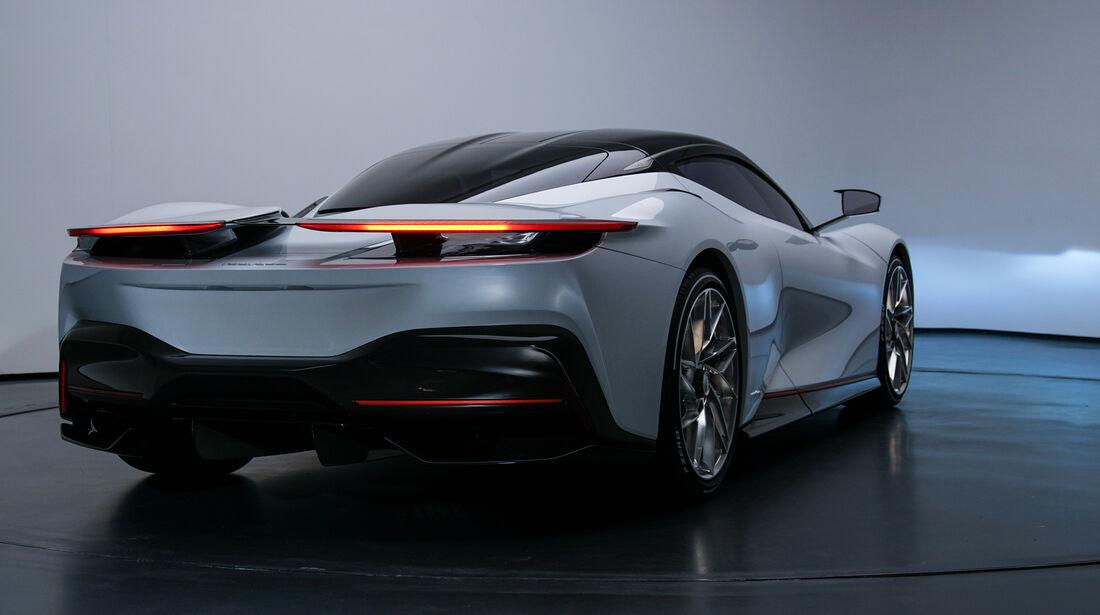 SPERRFRIST 05.03.19 / 00:01 Uhr Pininfarina Battista 2019 Elektro Hypercar Turin Studio