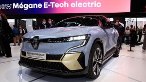 SPERRFRIST 06.09.21 09.05 Uhr Renault Megane E-Tech Electric Neuvorstellung 2021