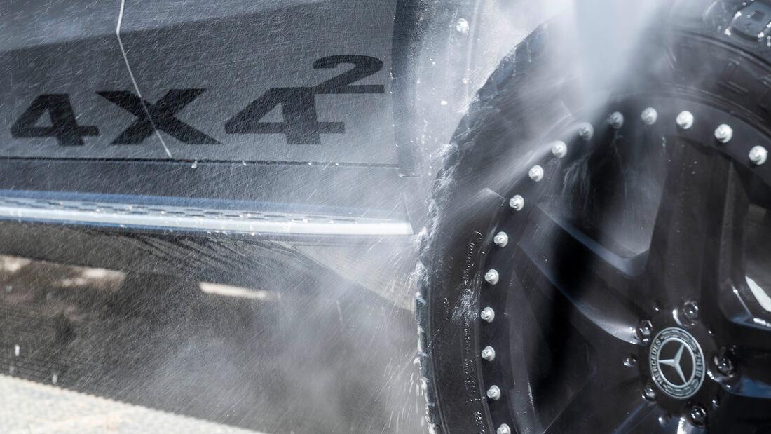 SPERRFRIST 13.10.20 00.01 Uhr Mercedes EQC 4X4² Offroad Fahrbericht