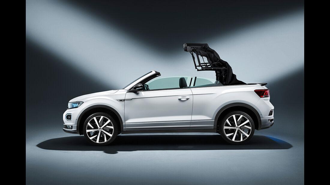 SPERRFRIST 14.08.19 00:01 Uhr VW T-Roc Cabrio 2020 Style R-Line Crossover