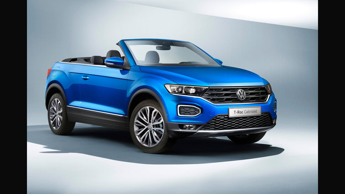 SPERRFRIST 14.08.19 00:01 Uhr VW T-Roc Cabrio 2020 Style R-Line Crossover