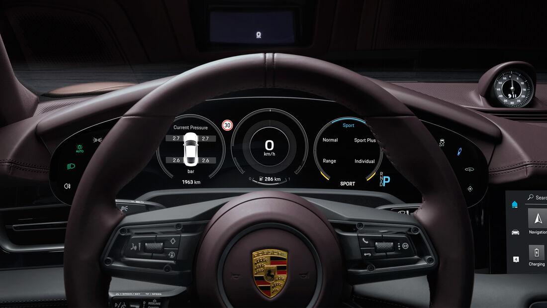 SPERRFRIST 20.01.21 00:01 Uhr Porsche Taycan 2WD Basismodell