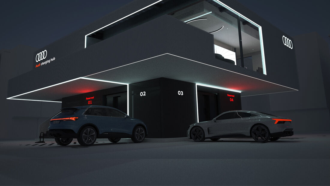 SPERRFRIST 20.05.21 16 Uhr Audi HPC Charging Hub