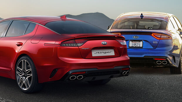SPERRFRIST 23.09.2020 8.30 Uhr Kia Stinger Modelljahr 2021 Facelift
