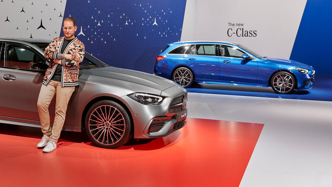 SPERRFRIST 24.02.21 14 Uhr Mercedes-Benz C-Klasse W 206 Premiere 2021