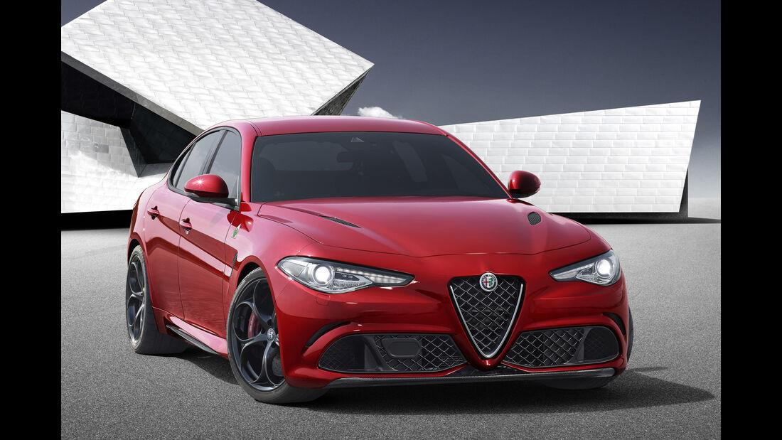 SPERRFRIST 24.06.15 / 20 Uhr Alfa Romeo Giulia 2015