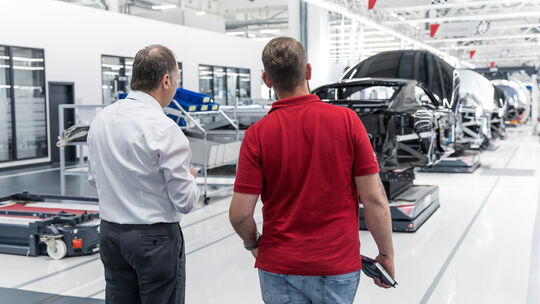 SPERRFRIST 24.10.18 / 00:01 Uhr Audi R8 Facelift 2018 Werk Produktion