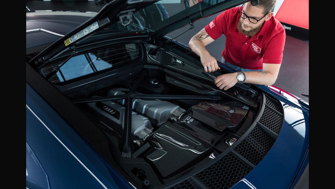 SPERRFRIST 24.10.18 / 00:01 Uhr Audi R8 Facelift 2018