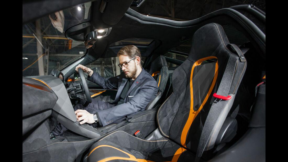 SPERRFRIST 7.3.17 / 14.30 Uhr McLaren 720S