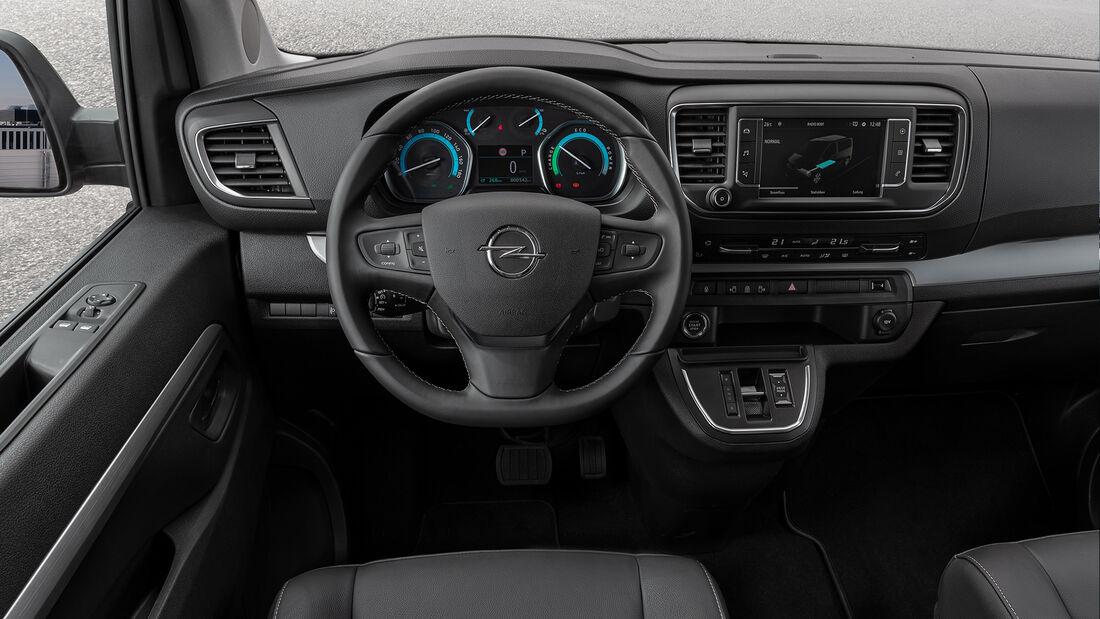 SPERRFRIST 9. September 2020 12 Uhr Opel Zafira-e Life Fahrbericht