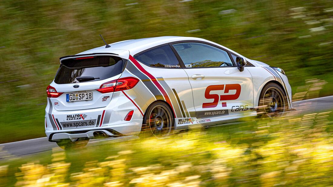 SPcars Ford Fiesta ST, Exterieur