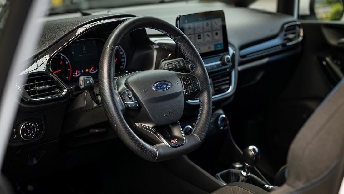 SPcars Ford Fiesta ST, Interieur