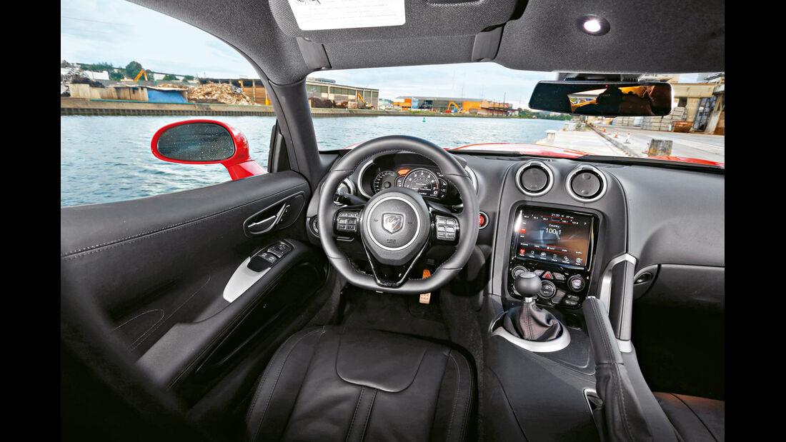 SRT Viper, Cockpit