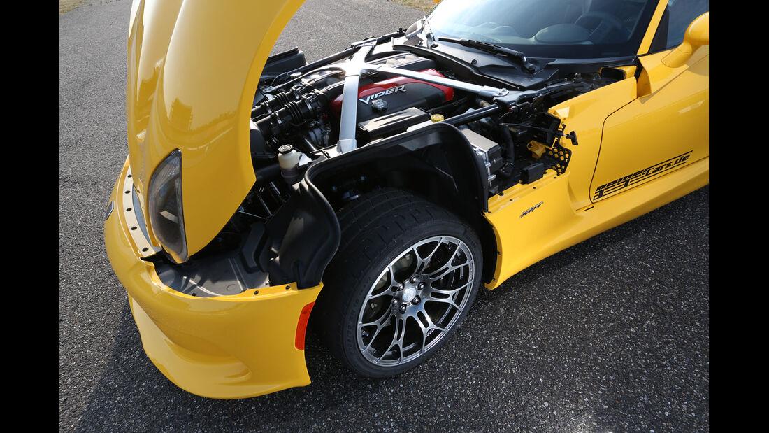 SRT Viper, Motorhaube