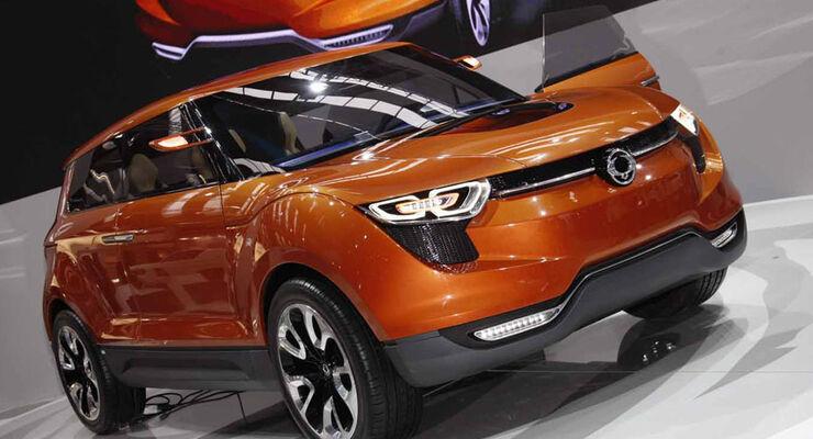 SSang Yong XUV1 Concept IAA