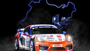SUPER RACER, Simulator-Casting von upgraded