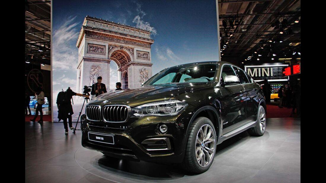 SUV-Rundgang Autosalon Paris
