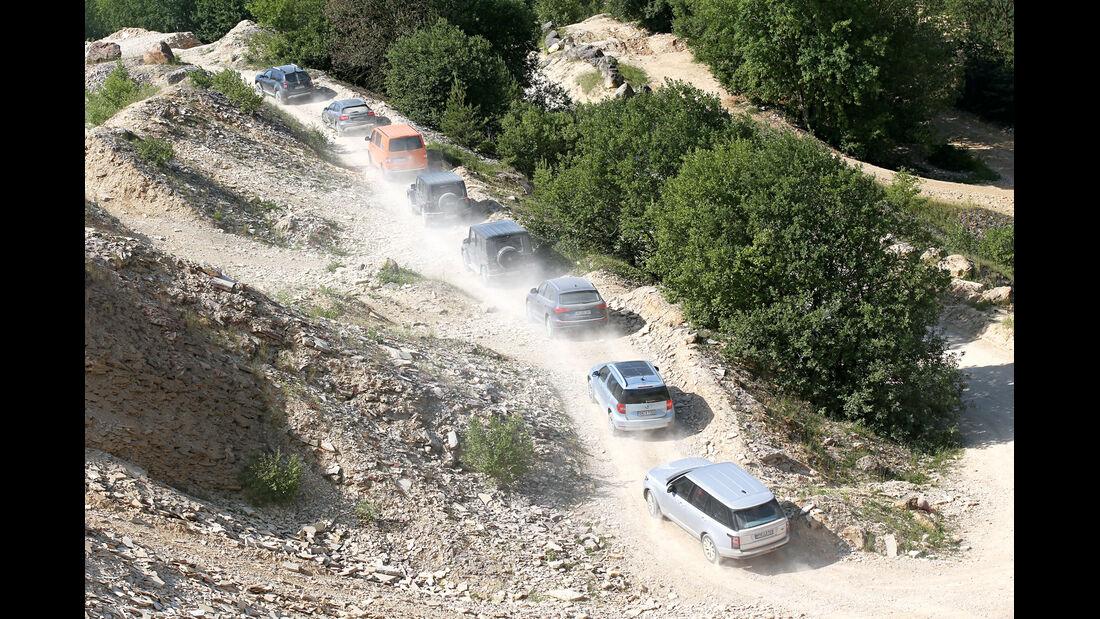 SUV und Geländewagen
