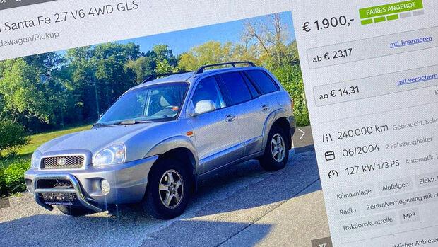 SUV wider Willen Gebrauchtwagen Kauf Reportage