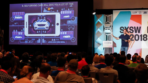 SXSW 2018 Digitalmesse Mercedes Austin USA
