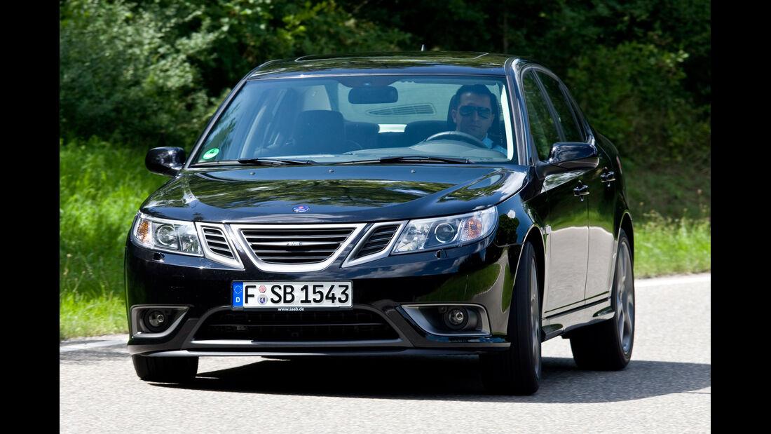 Saab 9-3 1.8t, Frontansicht