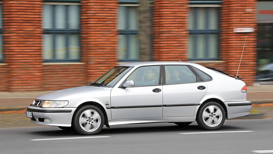 Saab 9-3 2.0 Turbo, Seitenansicht