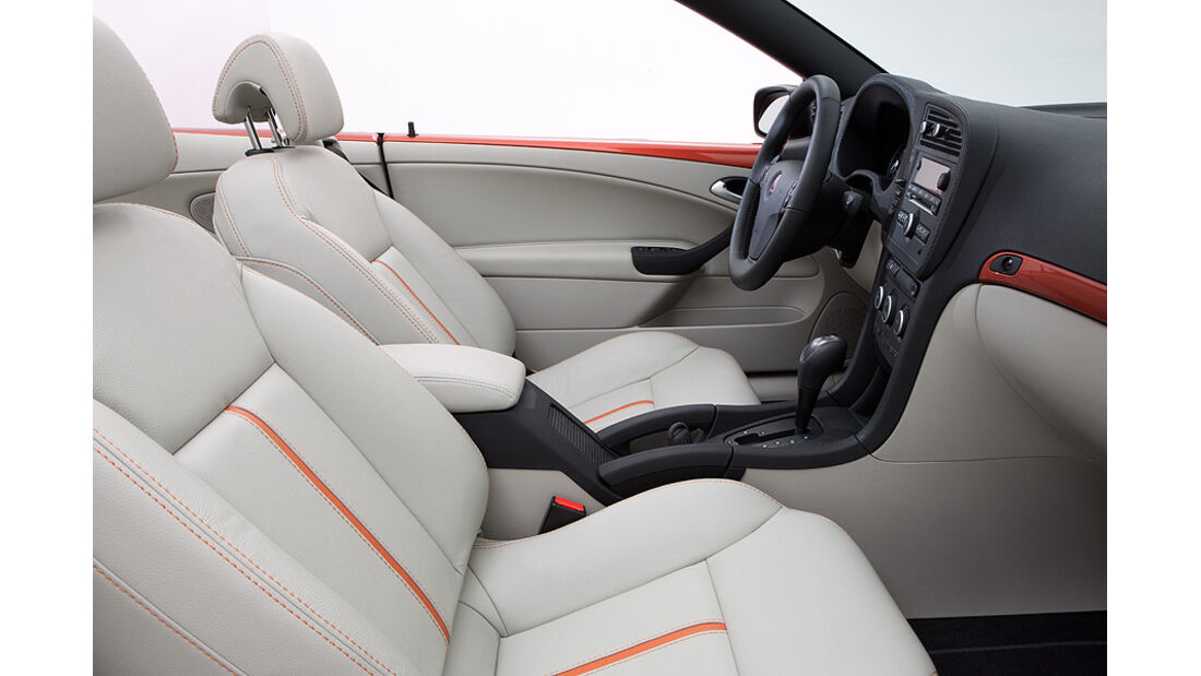 Saab 9-3 Cabrio Independence Edition, Innenraum