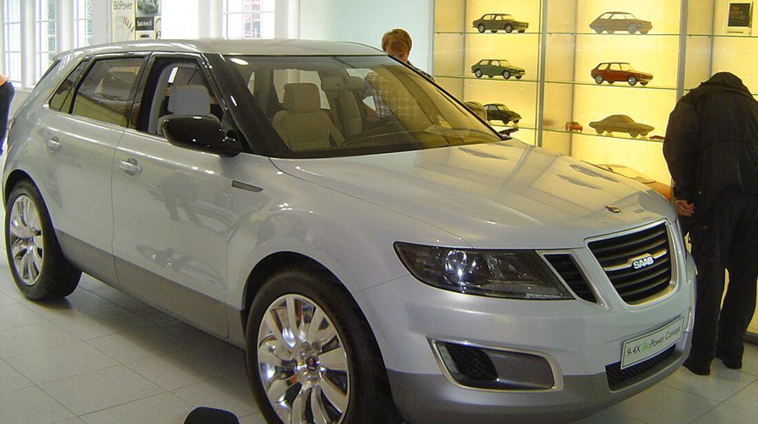 Saab 9.4 X BioPower Concept von 2009