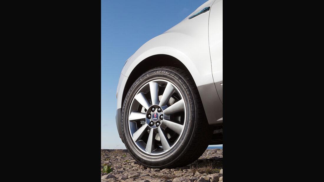 Saab 9-4x, Reifen