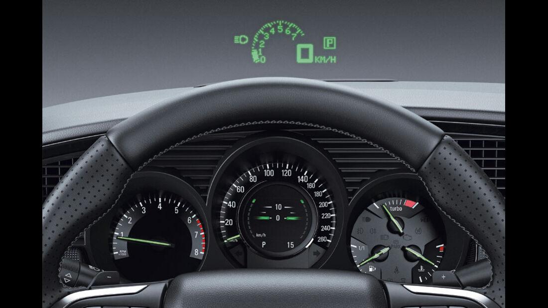 Saab 9-5, Display