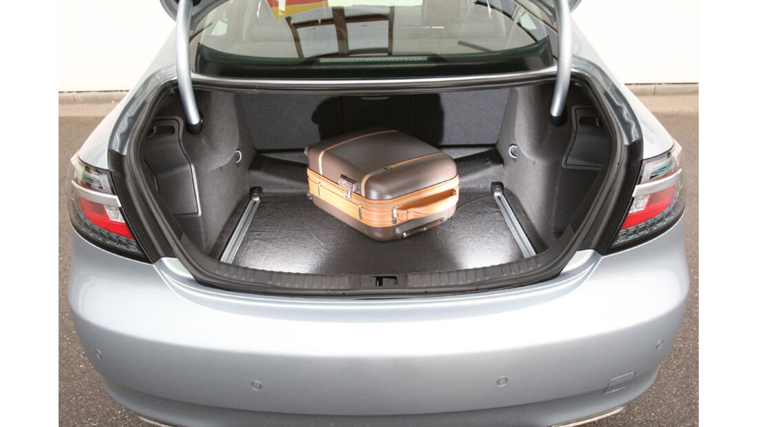 Saab 9-5, Kofferraum