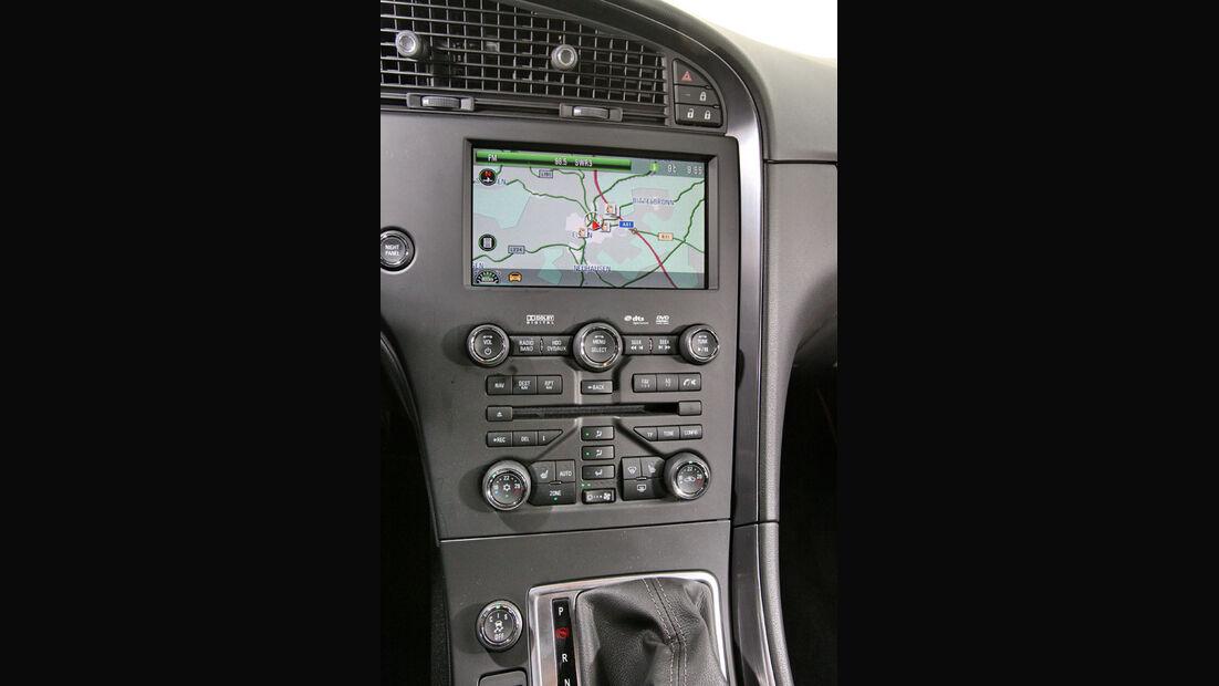 Saab 9-5, Mittelkonsole, Navigationssystem