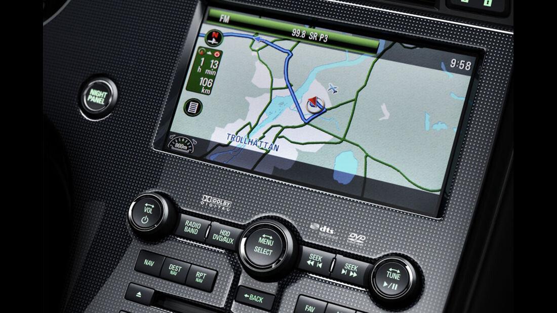 Saab 9-5, Navigationssystem