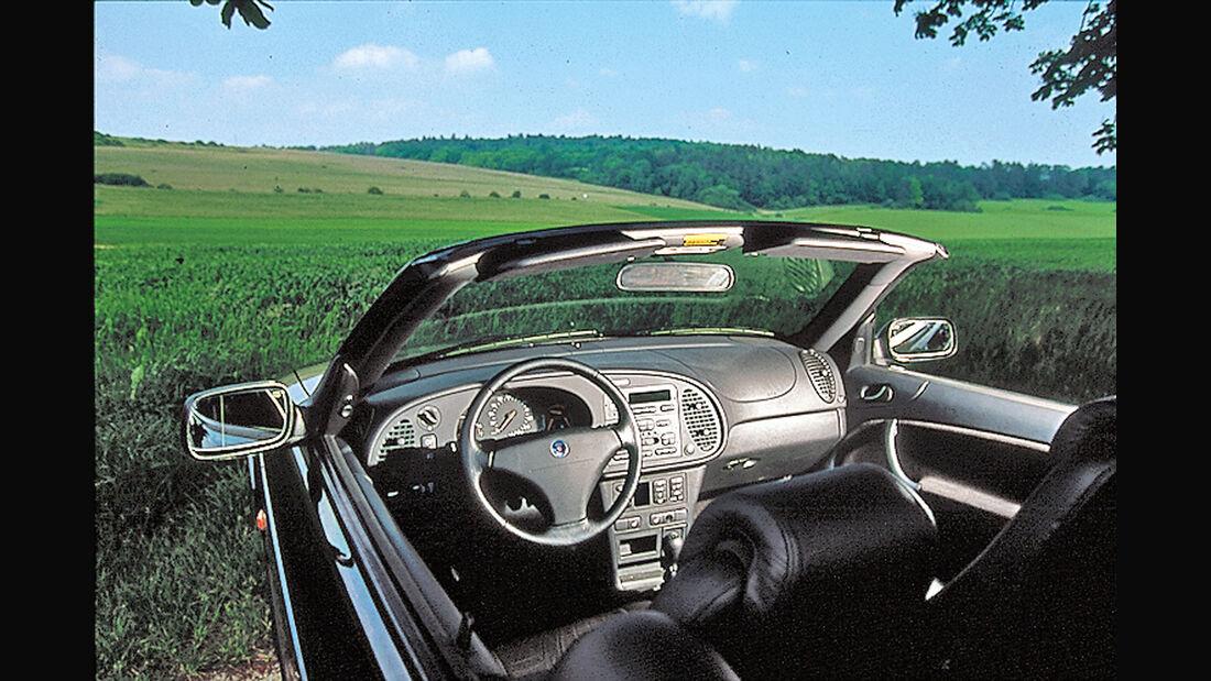 Saab 900 Cabrio, Cockpit
