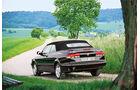 Saab 900 Cabrio, Heckansicht