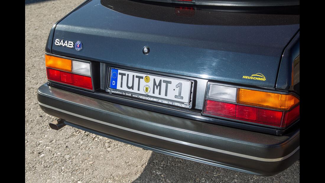 Saab 900 Cabrio, Heckleuchte, Heck