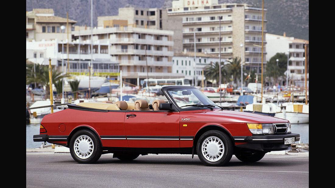 Saab 900 Cabrio von 1986