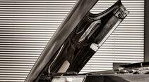 Saab 900 Cabriolet, Motorhaube